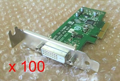 100 x Fujitsu LR2910 Esprimo Mini PCI DVI ADD2 Flexislot Card S26361-D1500-V610